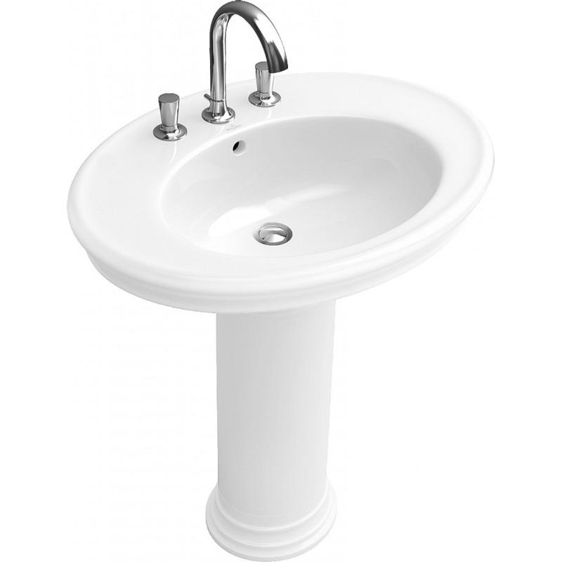 villeroy boch amadea lavabo a colonna bagnolandia