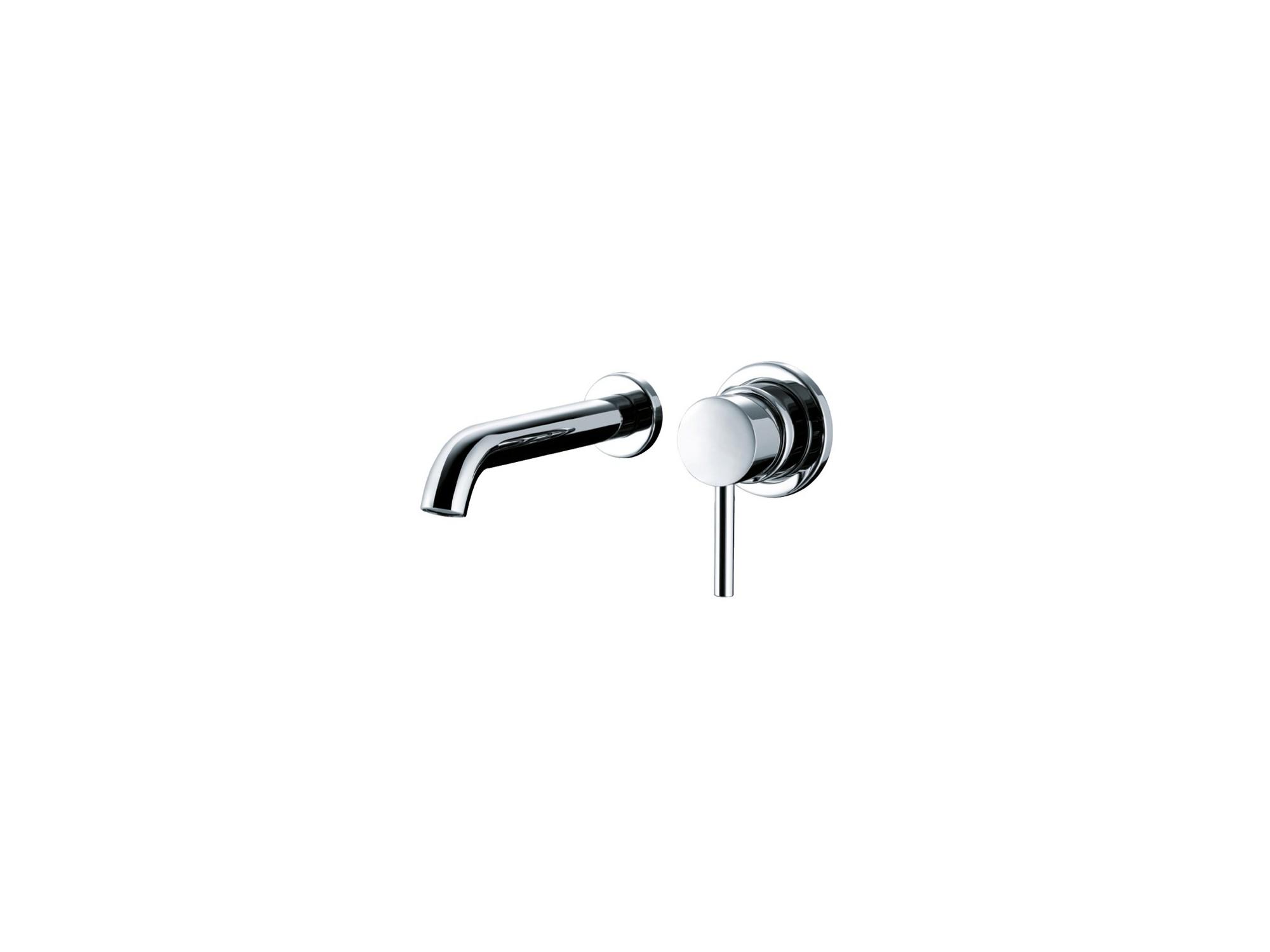 Miscelatore A Muro Per Lavabo bossini oki miscelatore a parete per lavabo