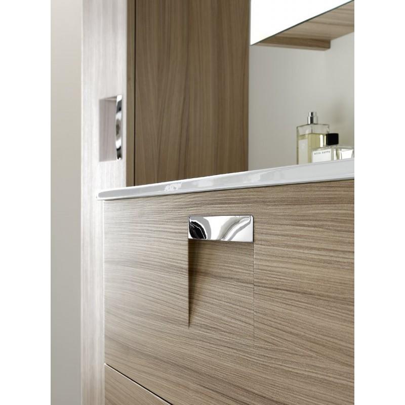 INDA Look mobile da bagno con specchiera e pensile - Bagnolandia