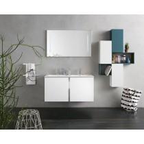 INDA Bravo mobile doppio lavabo con specchiera