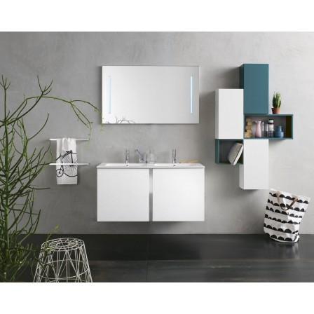 INDA Bravo mobile doppio lavabo con specchiera - Bagnolandia