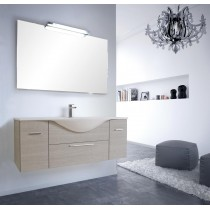 LASA Vanity composizione 06 nobilitato promenade corda 127 da bagno