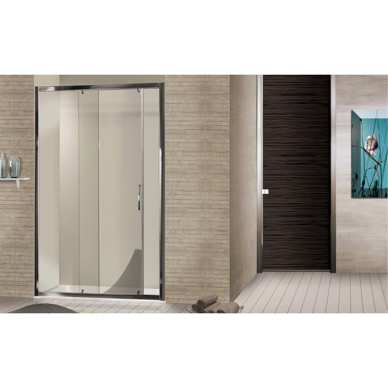2b box docce brio porta scorrevole in cristallo bagnolandia - Porta in cristallo scorrevole ...