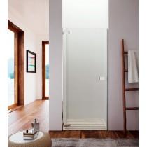 GLASS Noor NF porta  Vetro-TRASPARENTE Porta-Porta scorrevole a destra Dimensione-L.100 - H.195cm