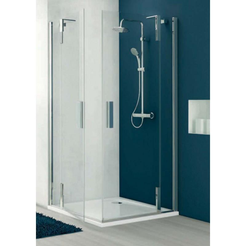 Ideal standard tonic a cabina doccia ad angolo bagnolandia - Cabina doccia esterna ...