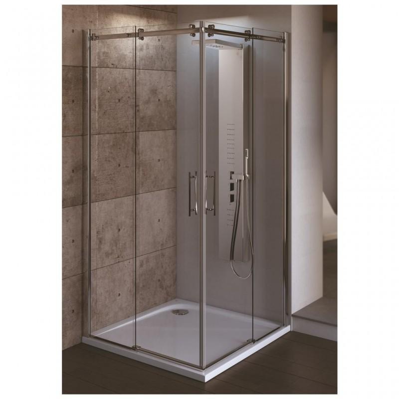Ideal standard magnum a porta scorrevole per cabina doccia ad angolo bagnolandia - Porta scorrevole per doccia ...