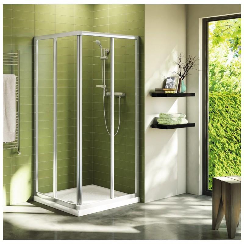 Ideal standard connect a porta scorrevole per cabina doccia - Box doccia misure standard ...