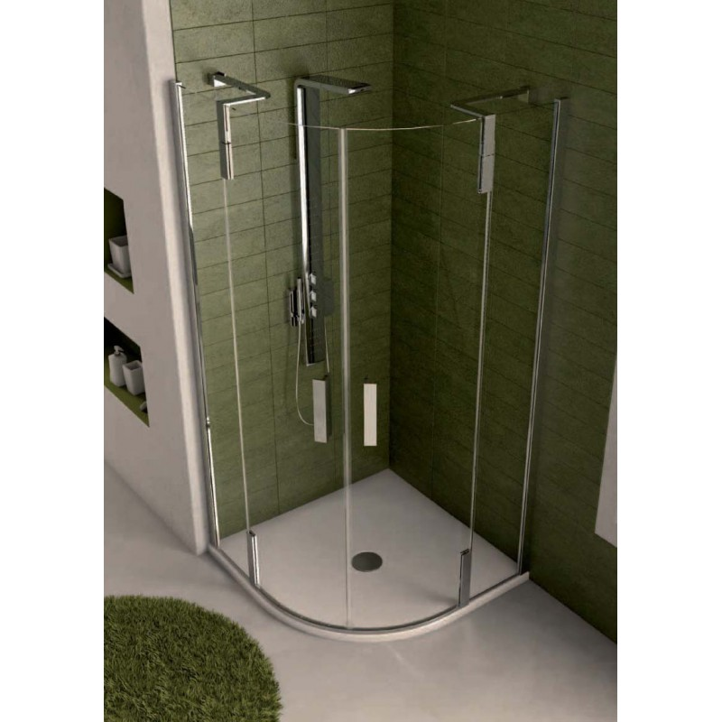 Ideal standard tonic r cabina doccia ad angolo curvo - Box doccia misure standard ...