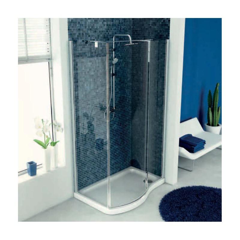 Ideal standard tonic esse cabina doccia sagomata bagnolandia - Cabina doccia esterna ...