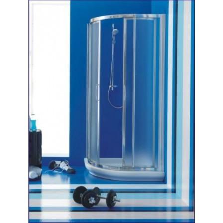 Ideal standard tipica r cabina doccia angolare bagnolandia - Box doccia misure standard ...
