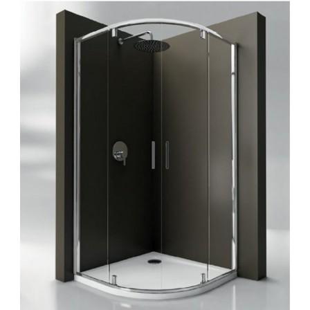 Ideal standard strada r cabina doccia semicircolare - Cabina doccia esterna ...
