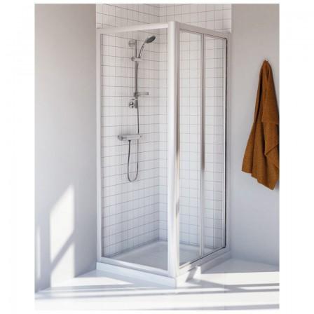 Ideal standard tipica ps porta doccia apertura a soffietto - Porta a soffietto per doccia ...