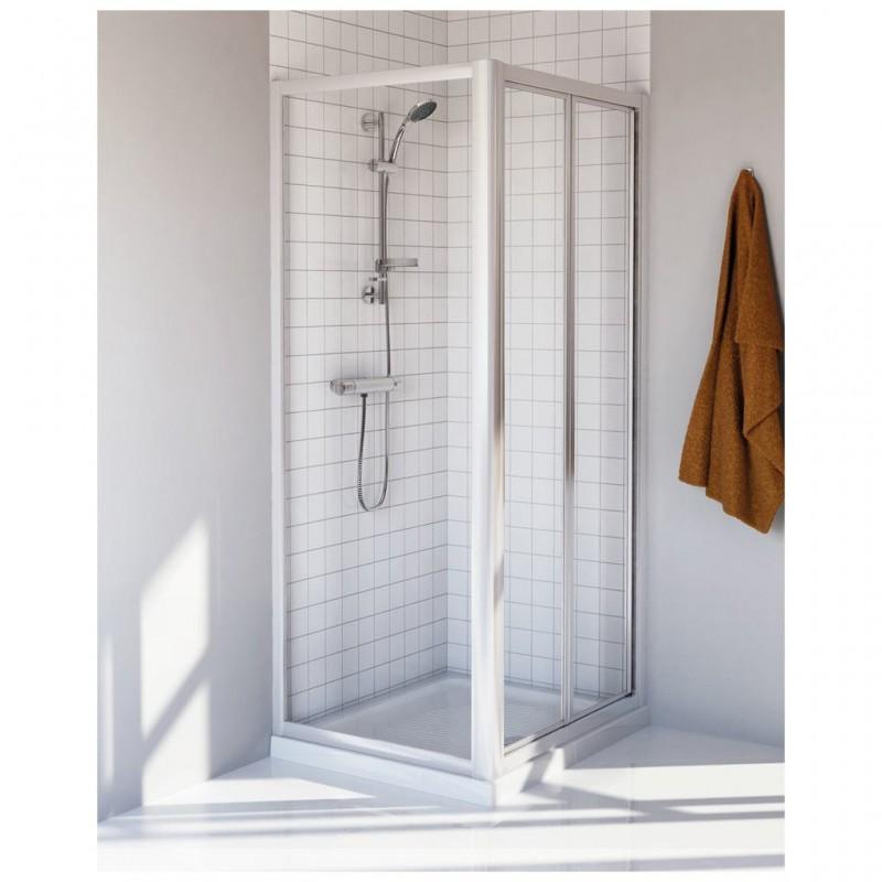 Ideal standard tipica ps porta doccia apertura a soffietto - Porta doccia soffietto ...