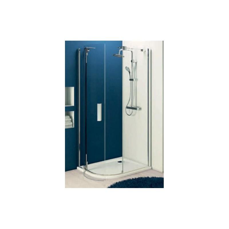 Ideal standard tonic r swim cabina doccia asimmetrica - Cabina doccia esterna ...