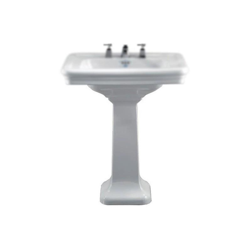 Devon devon etoile colonna per lavabo a terra bagnolandia for Lavabo a colonna