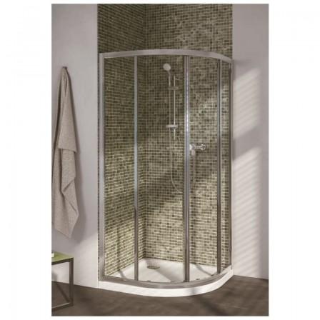 Ideal standard connect r cabina doccia semicircolare - Cabina doccia esterna ...