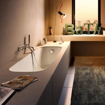 Glass dek vasca con struttura rivestibile integrata bagnolandia - Produttori vasche da bagno in acrilico ...