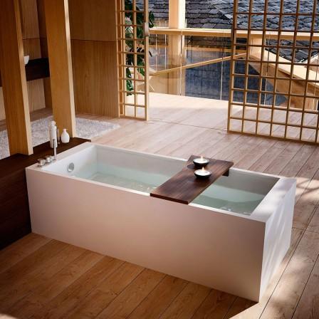 Glass petra vasca con idromassaggio e piletta cromata bagnolandia - Glass vasche da bagno ...