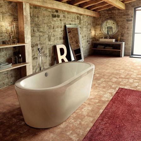 Glass renaissance vasca da appoggio senza idromassaggio bagnolandia - Glass vasche da bagno ...