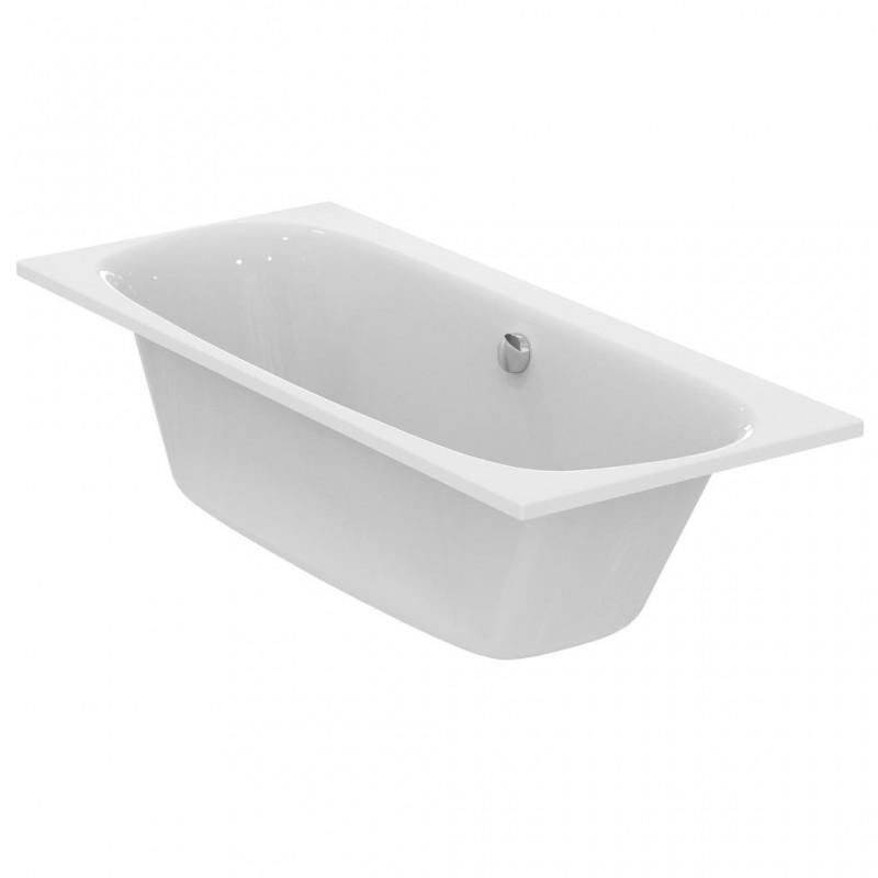 ideal standard dea duo vasca da incasso con colonna di scarico bagnolandia. Black Bedroom Furniture Sets. Home Design Ideas