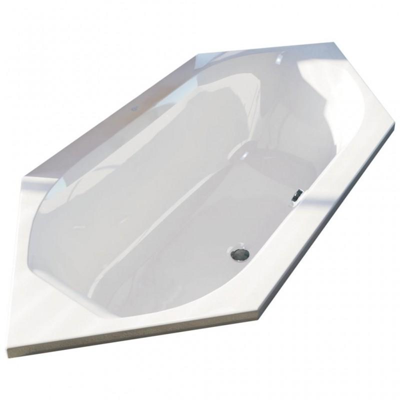 Ideal standard active vasca esagonale ad incasso bagnolandia - Vasche da bagno ideal standard ...