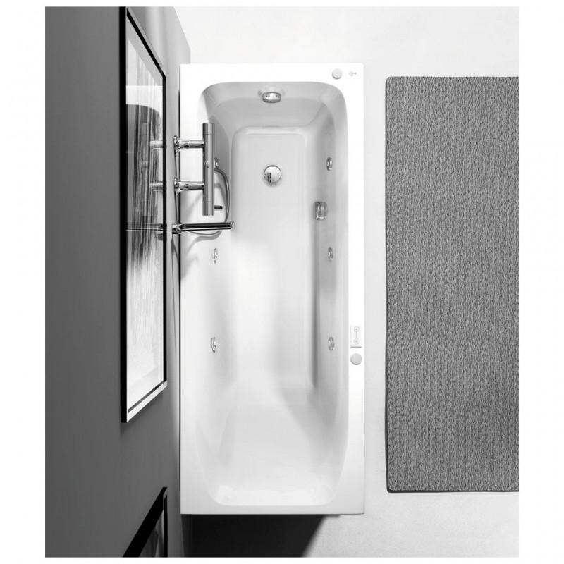 Ideal standard active vasca idromassaggio rettangolare bagnolandia for Vasca da bagno prezzi ideal standard