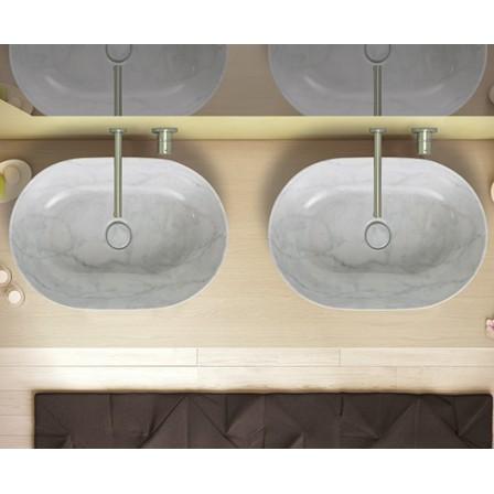 GLOBO T-Edge lavabo da appoggio