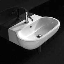 GLOBO Bowl+ lavabo sospeso