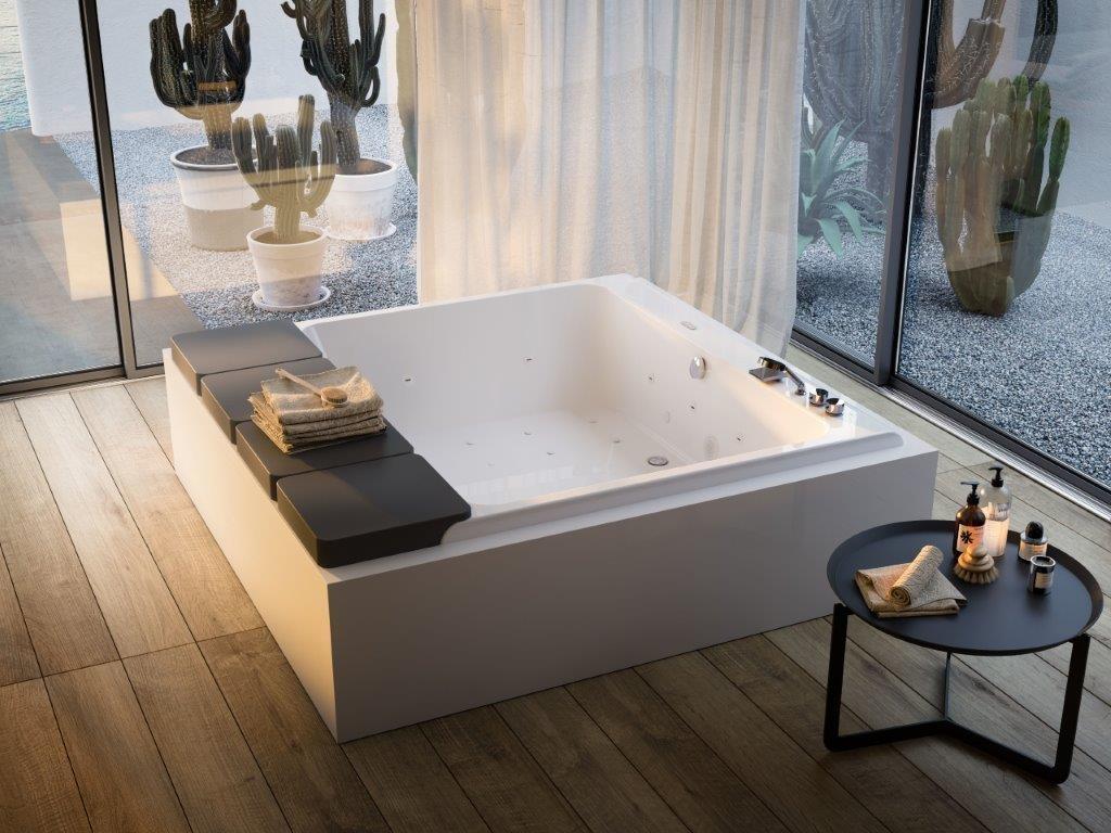 Vasche Da Bagno Porcelanosa Prezzi : Glass mawi vasca freestanding con idromassaggio bagnolandia