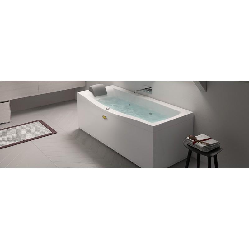 Jacuzzi essentials vasca idromassaggio 170x70 bagnolandia for Vasche da bagno jacuzzi