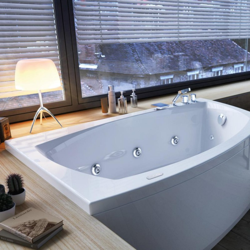 Glass linea vasca da incasso senza sistema idromassaggio bagnolandia - Glass vasche da bagno ...