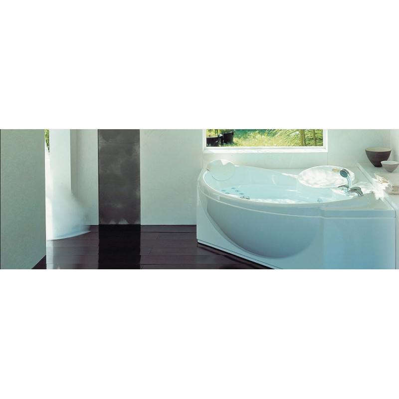 Vasca idromassaggio jacuzzi celtia ad angolo bagnolandia - Bagno con vasca ad angolo ...