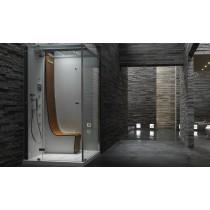 cabina doccia con bagno turco jacuzzi