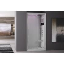 Cabina doccia con bagno turco jacuzzi Frame 100