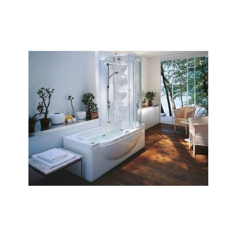 Vasca da bagno con doccia jacuzzi amea twin bagnolandia - Vasca da bagno con doccia ...