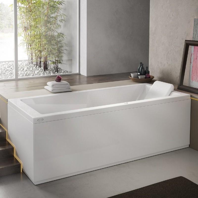 Vasca 160x70 jacuzzi energy in offerta bagnolandia - Vasche da bagno asimmetriche 160x70 ...