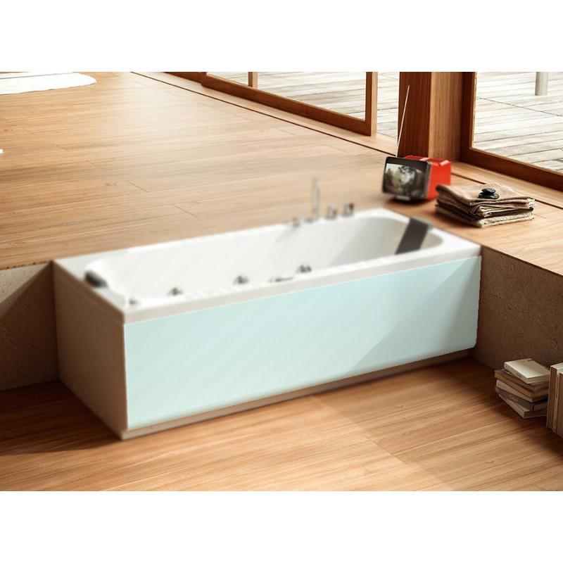 Glass pop pannello frontale per vasca bagnolandia - Pannelli vasca da bagno ...