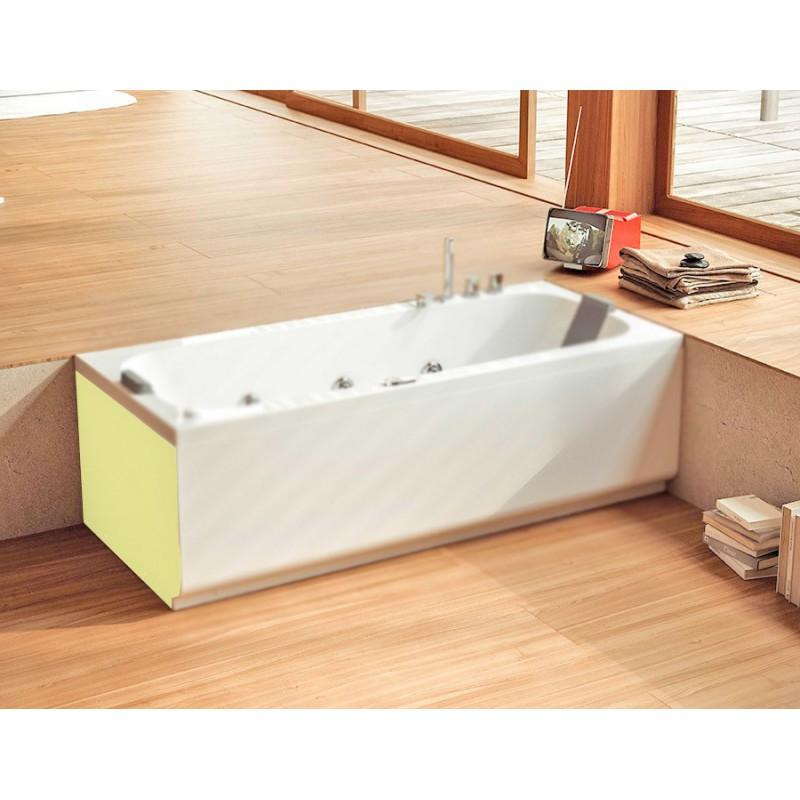 Glass pop pannello laterale per vasca bagnolandia - Pannelli vasca da bagno ...