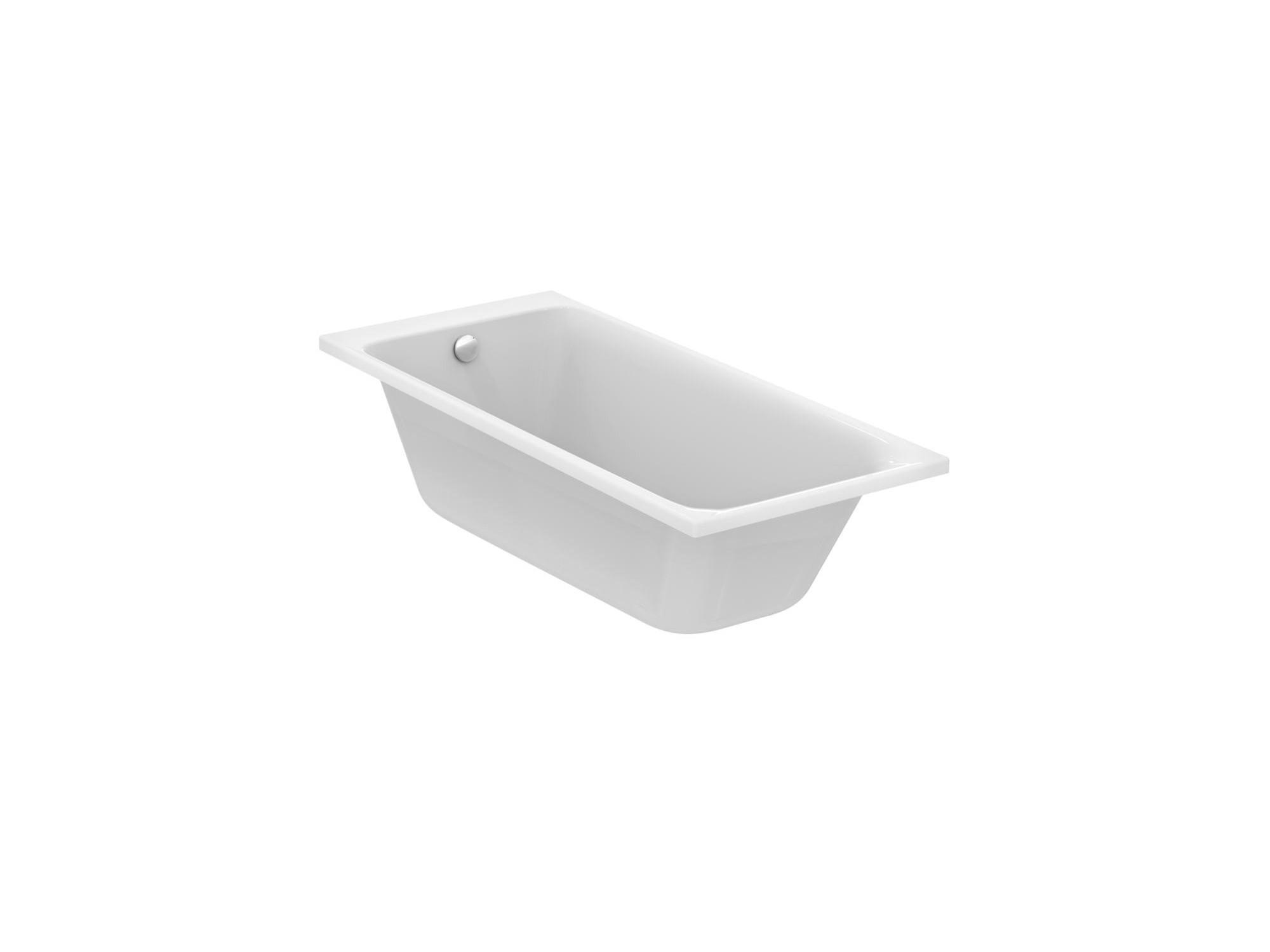 Vasca Da Bagno Misure Standard vasca da bagno ad incasso asimmetrica ideal standard
