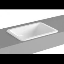 VITRA S20 lavabo soprapiano senza foro da 50cm