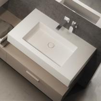 GLOBO Incantho lavabo sospeso o appoggio da 100 cm