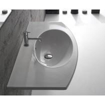 lavabo sospeso globo 4all di ceramica globo