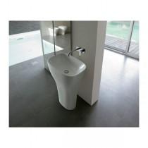 GLOBO Lavabo Monolitico in ceramica 60x40