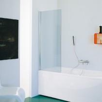 SAMO parete per vasca con design rettangolare