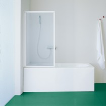 SAMO paratia per vasca da bagno con apertura interna ed esterna