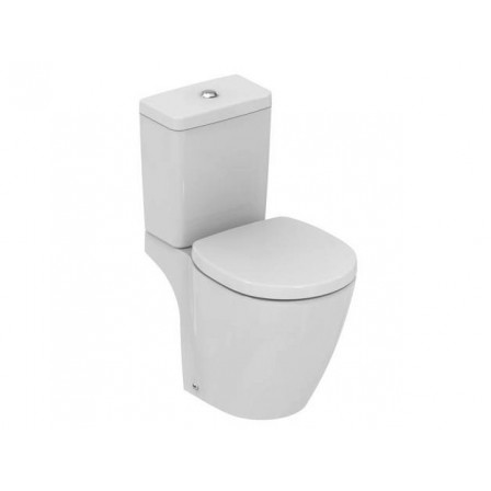 Ideal standard connect space wc con cassetta di scarico for Lunette wc ideal standard