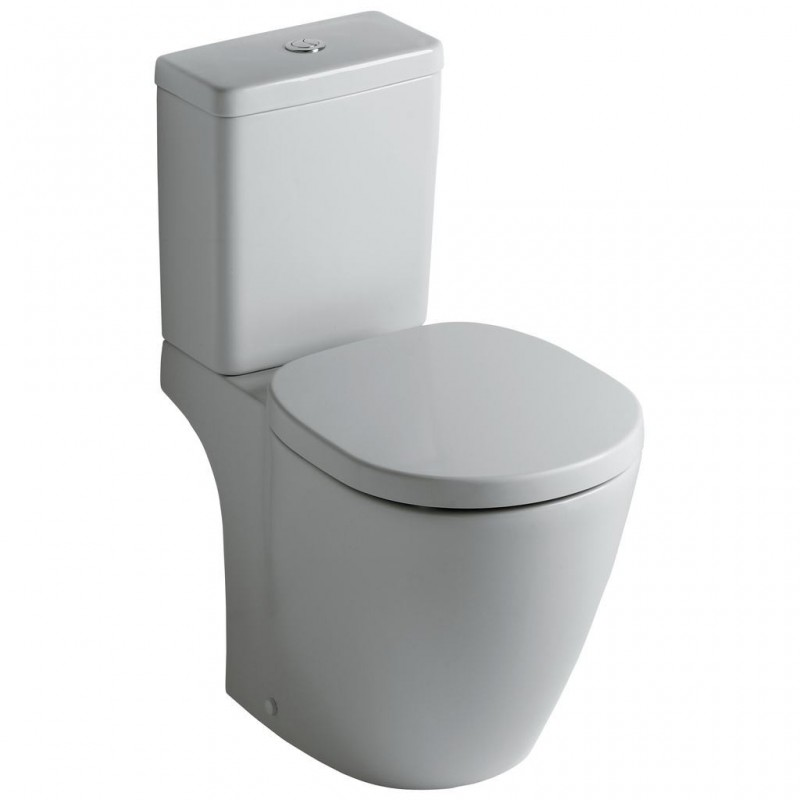 Ideal standard connect wc con cassetta di scarico for Lunette wc ideal standard