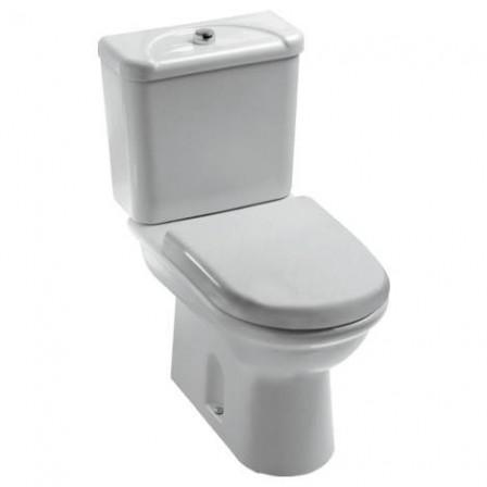 Ideal standard esedra wc per cassetta da appoggio bagnolandia - Aspiratore bagno senza uscita esterna ...