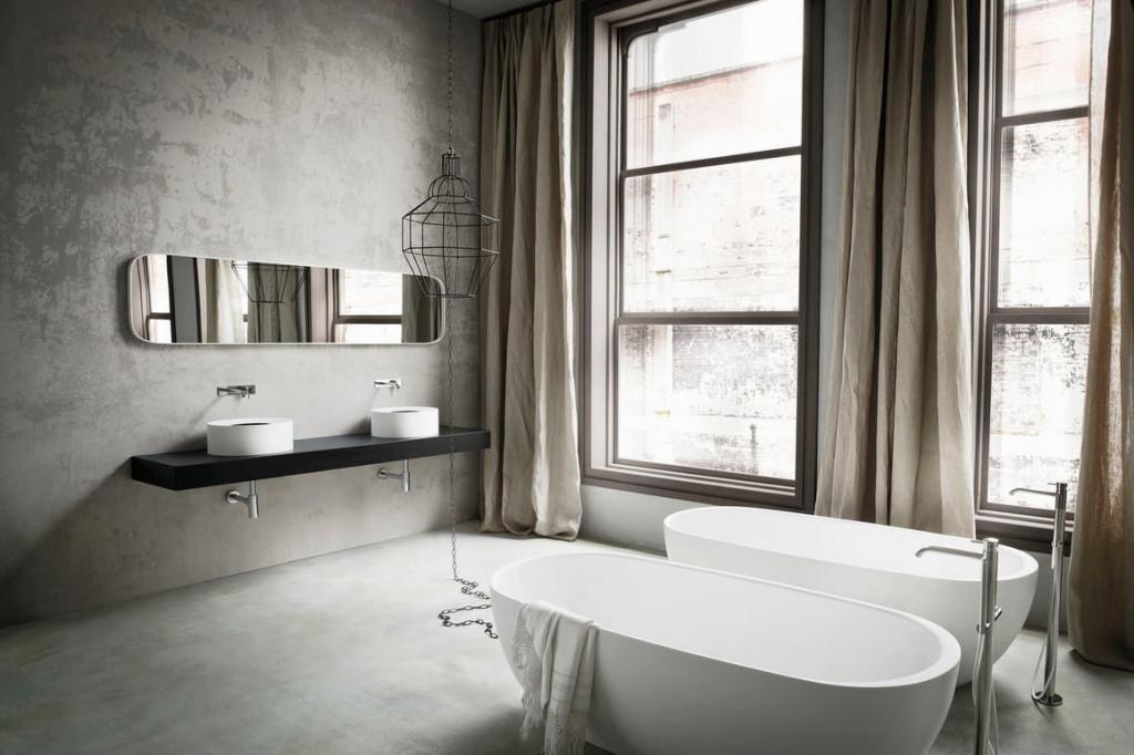 Posizionamento dei sanitari in un bagno moderno