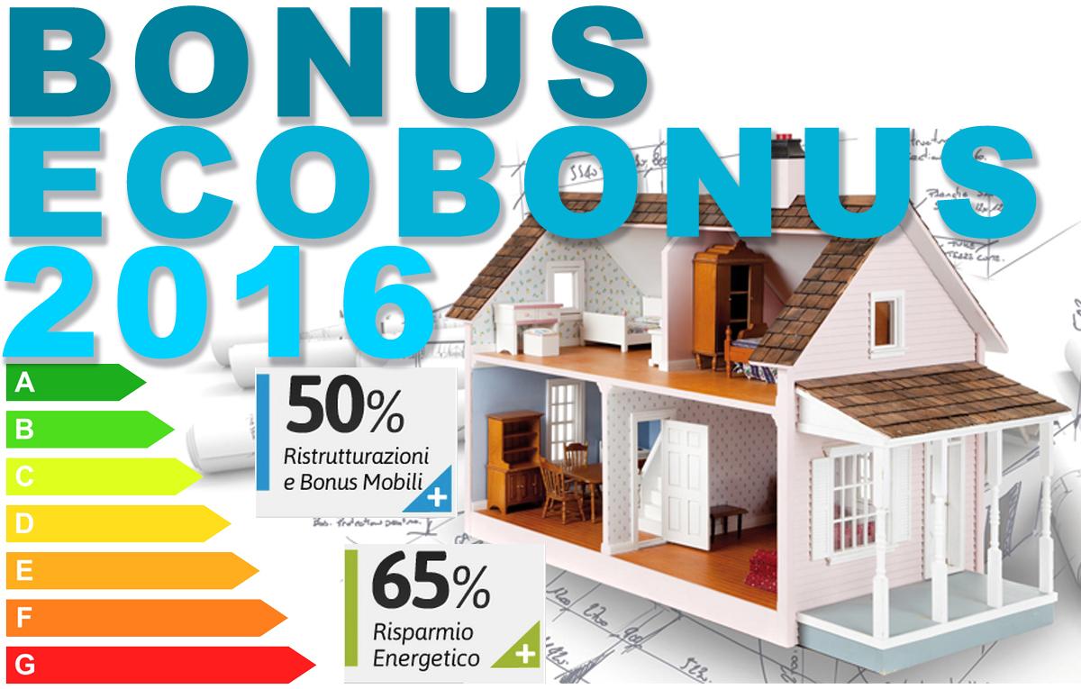 Eco bonus 2016